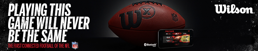 Wilson Playing This Game Will Never Be The Same The First Connected Football Of The NFL