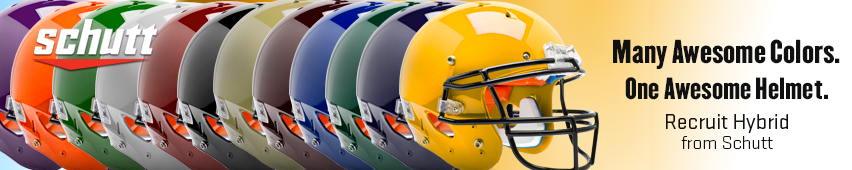 Many Awesome Colors. One Awesome Helmet. Recruit Hybrid From Schutt