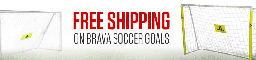 Free Shipping On Brava Soccer Goals