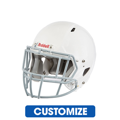 Riddell Youth Edge Football Helmet with 2EG Facemask