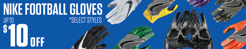 Up To $10 Off Nike Football Gloves