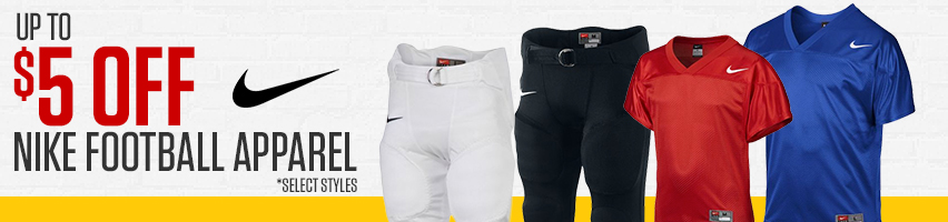 Up To $5 Off Nike Football Apparel
