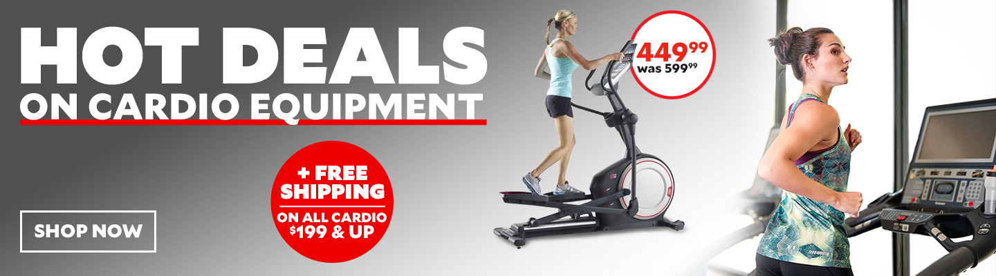 Hot Deals On Cardio Equipment