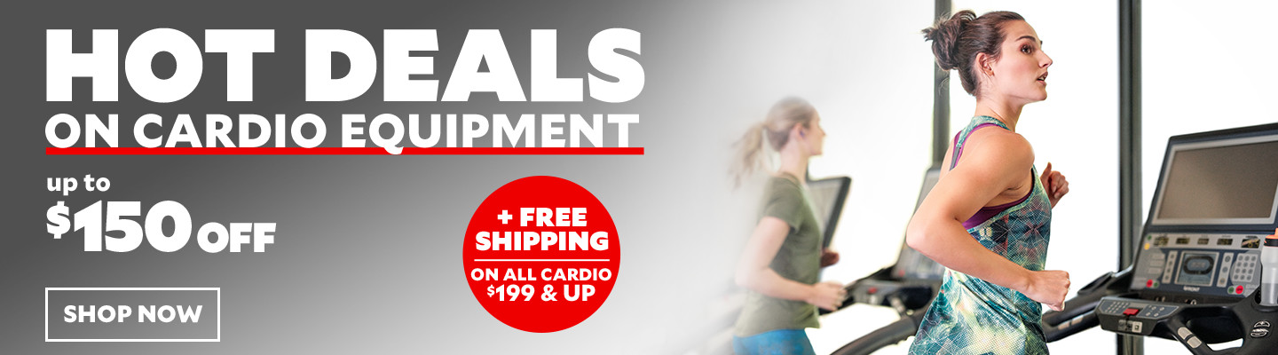 Hot Deals On Cardio Equipment. Up To $150 Off