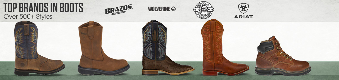 Top Brands in Boots - Over 300+ Styles