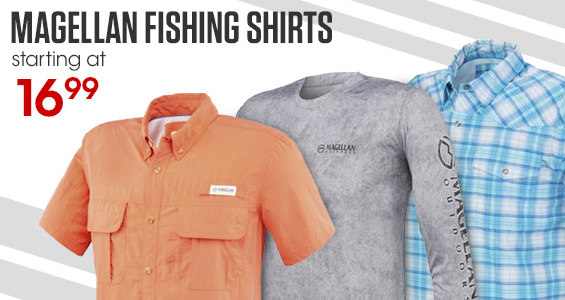Academy sports outdoors quality sporting goods top for Magellan fishing shirt