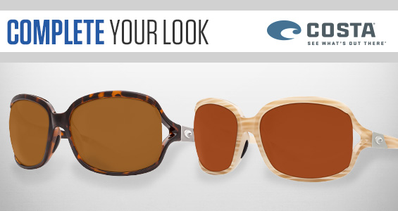 Complete Your Look with Costa Sunglasses