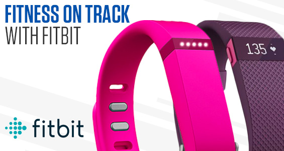 Fitness on Track with Fitbit