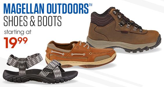 Magellan Outdoors Shoes and Boots Starting at 19.99