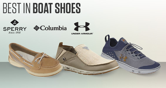 est In Boat Shoes. Sperry, Columbia, Under Armour
