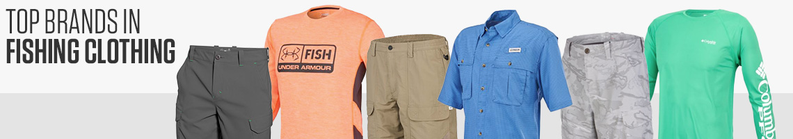 Top Brands in Fishing Clothing