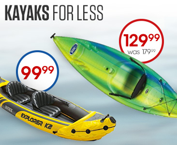 Kayaks for Less