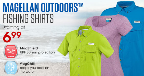 Academy sports outdoors quality sporting goods top for Fishing shirts that keep you cool