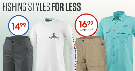 Fishing Styles for Less
