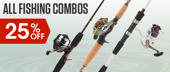 25% Off All Fishing Combos