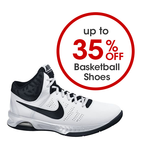 Up to 35 percent off Basketball Shoes