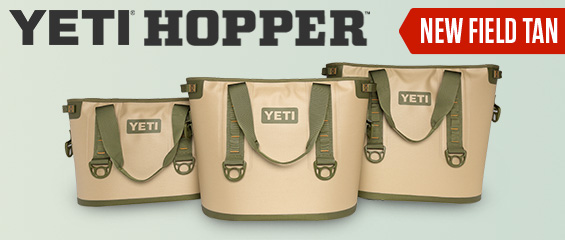 YETI Hopper - New Field Tan Color