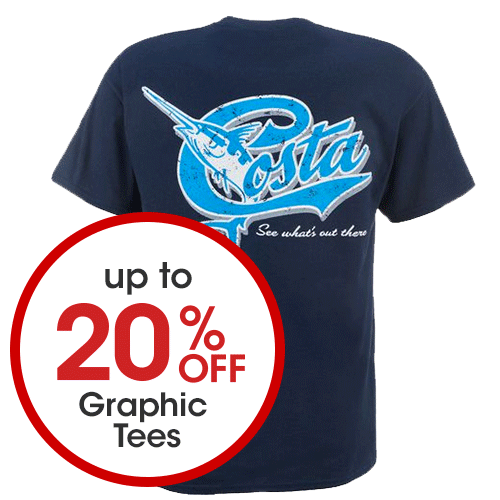 Up to 20% off Graphic Tees