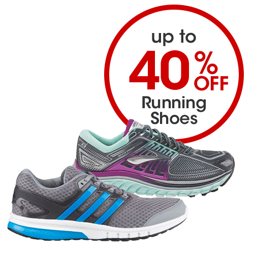 Up to 40% off Running Shoes