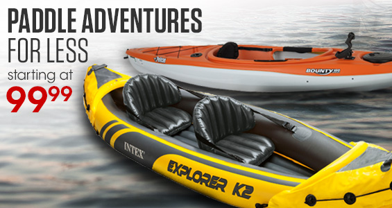 Paddle Adventures for less. Starting at $99.99