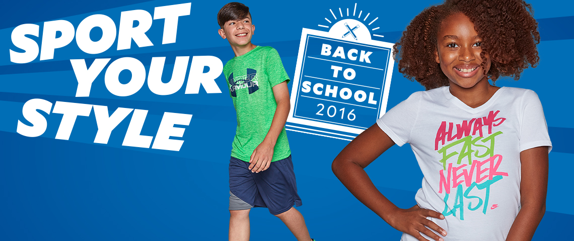 Sport Your Style. Back To School 2016.