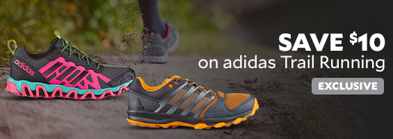 Save $10 on adidas trail running