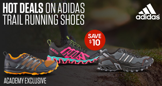 $10 Off adidas Trail Running shoes
