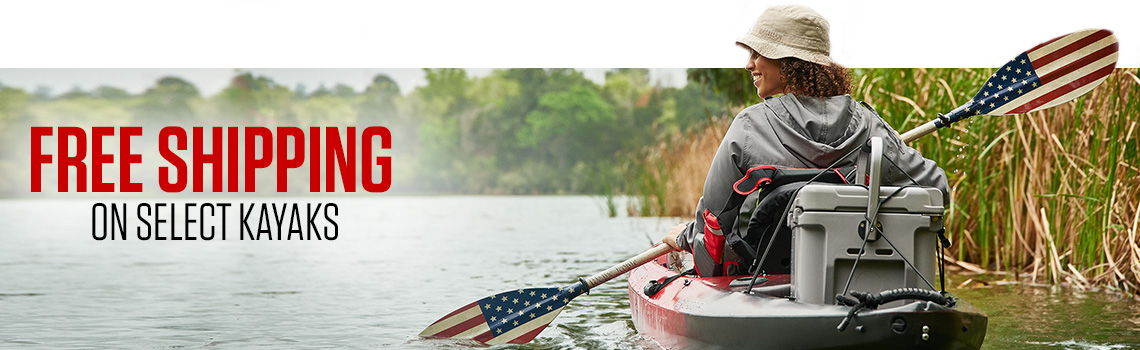 Free Shipping on select kayaks