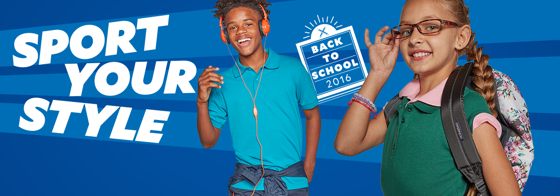 Sport Your Style. Back to School 2016