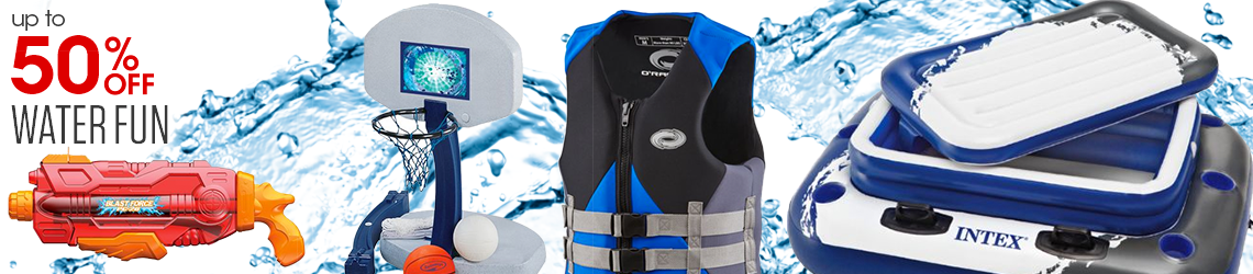 Up to 50% off Water Fun