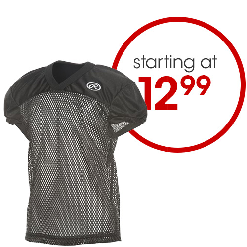 Football Apparel Starting at $12.99