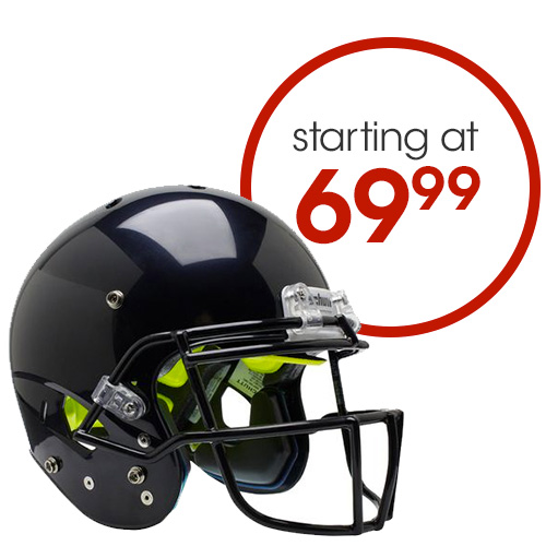 Helmets Starting at $69.99