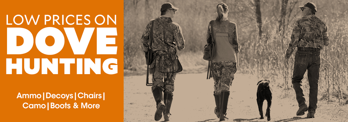Low Prices on Dove Hunting. Ammo, Decoys, Chairs,Camo, Boots & More.
