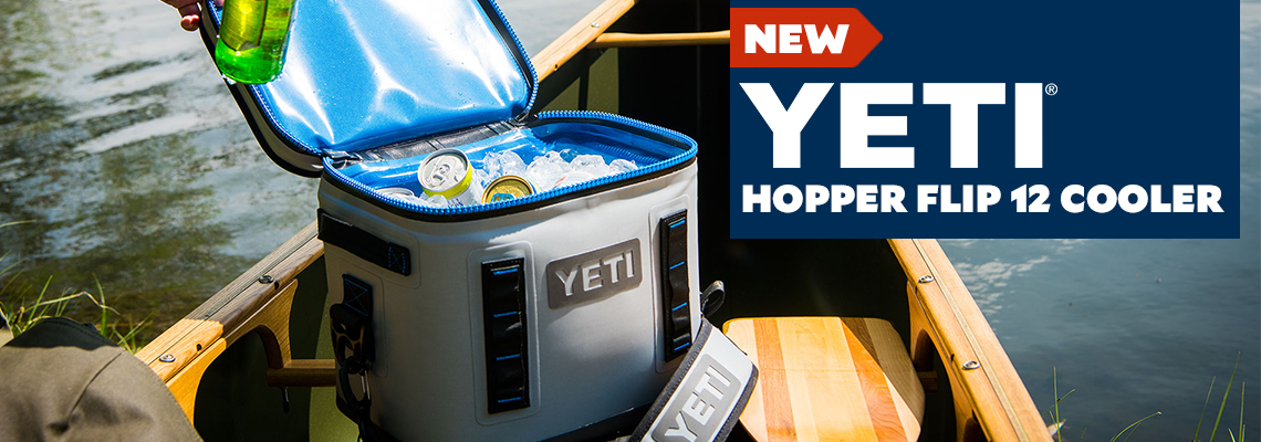 New Yeti Hopper Flip 12 Cooler available 8/25.