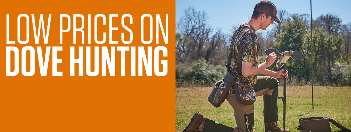Low Prices on Dove Hunting