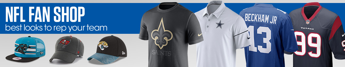 NFL Fan Shop. Best looks to rep your team with polos, caps, and tees.