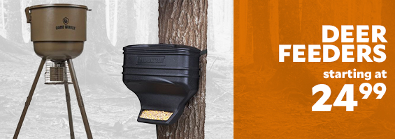 Deer Feeders Starting at $24.99