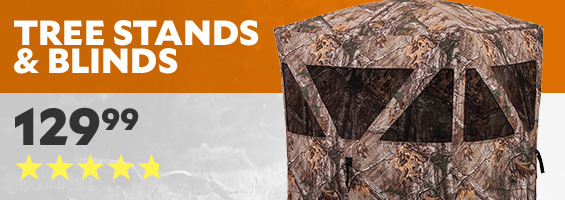 Tree Stands and Blinds. Ameristep Ground Blind Care Taker with Floor. Top Rated 4.7 Stars, only $129.99.