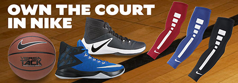 Own the Court in Nike Basketball Gear.