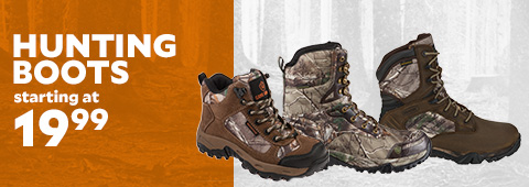 Hunting Boots Starting at $19.99