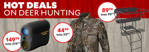 Hot Deals On Deer Hunting. Browning Strike Force XV 12 MP Infrared Game Camera Was $129.99 Now $99.99. Game Winner  Men's Savannah Softshell Jacket Was $59.99 Now $49.99. Game Winner® Tandem Treestand Was 99.99 Now 89.99.