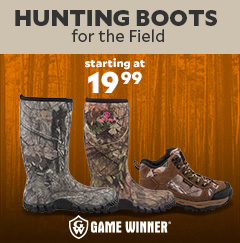 Game Winner Hunting Boots starting at $19.99.
