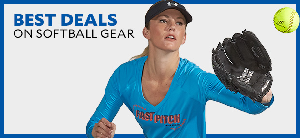 Best Deals on softball gear.