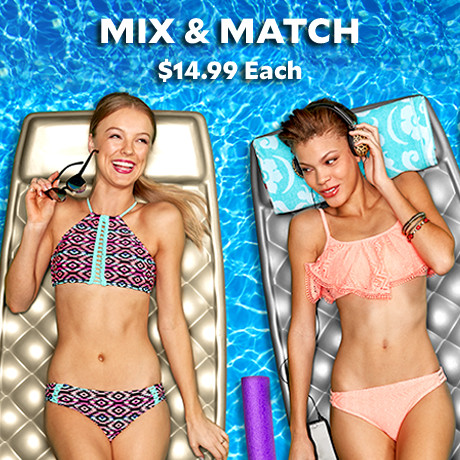 Mix and Match Swimwear Starting at $9.99.