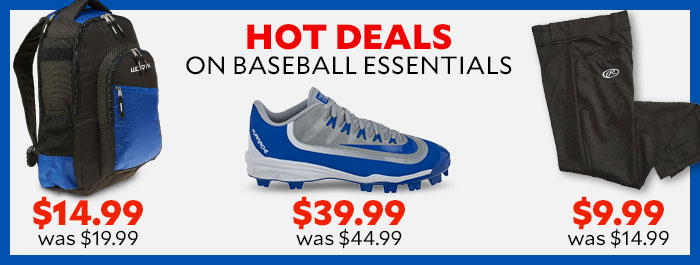 Hot deals on Baseball essentials