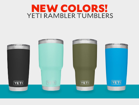 New colors! YETI Rambler Tumblers