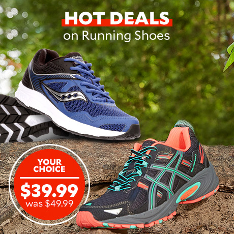 Hot Deals on Running Shoes