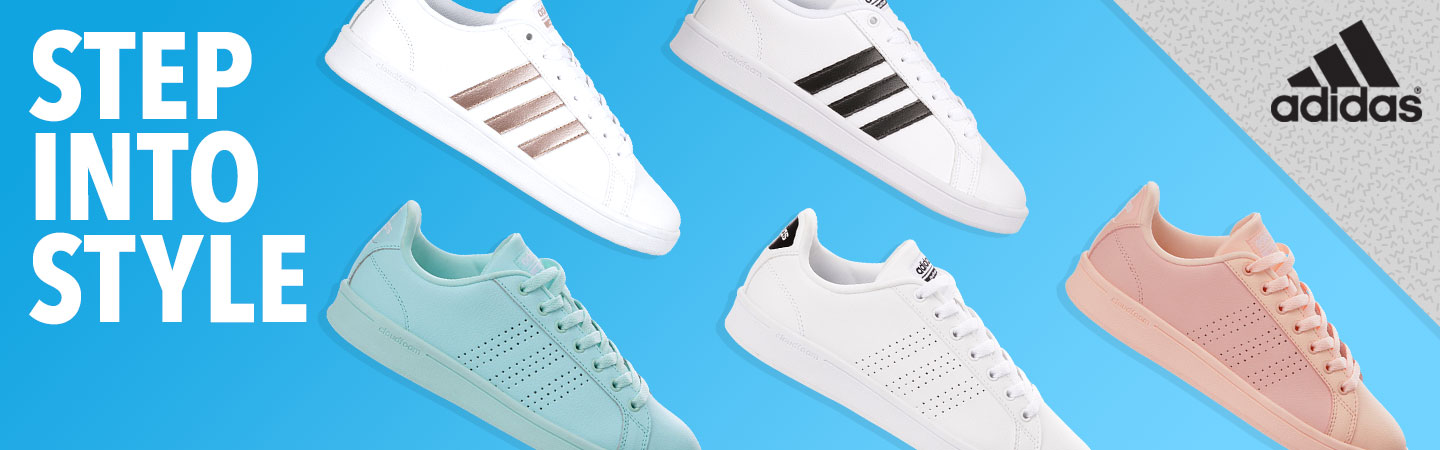 Step Into Style. adidas.