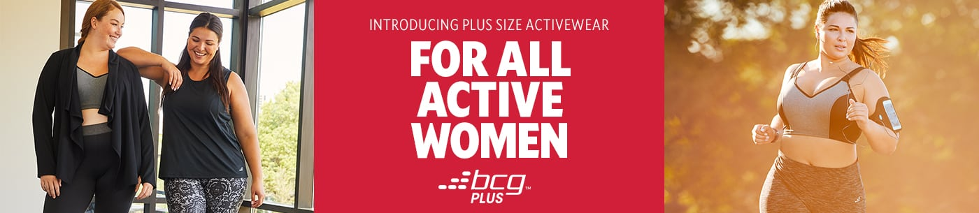 Introducing Plus Size Active Wear For All Women.