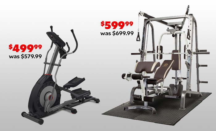 Hot Deals on Fitness Equipment